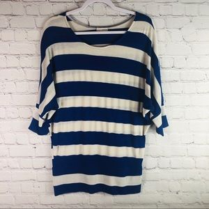 Zenana Outfitters Striped Knit Top